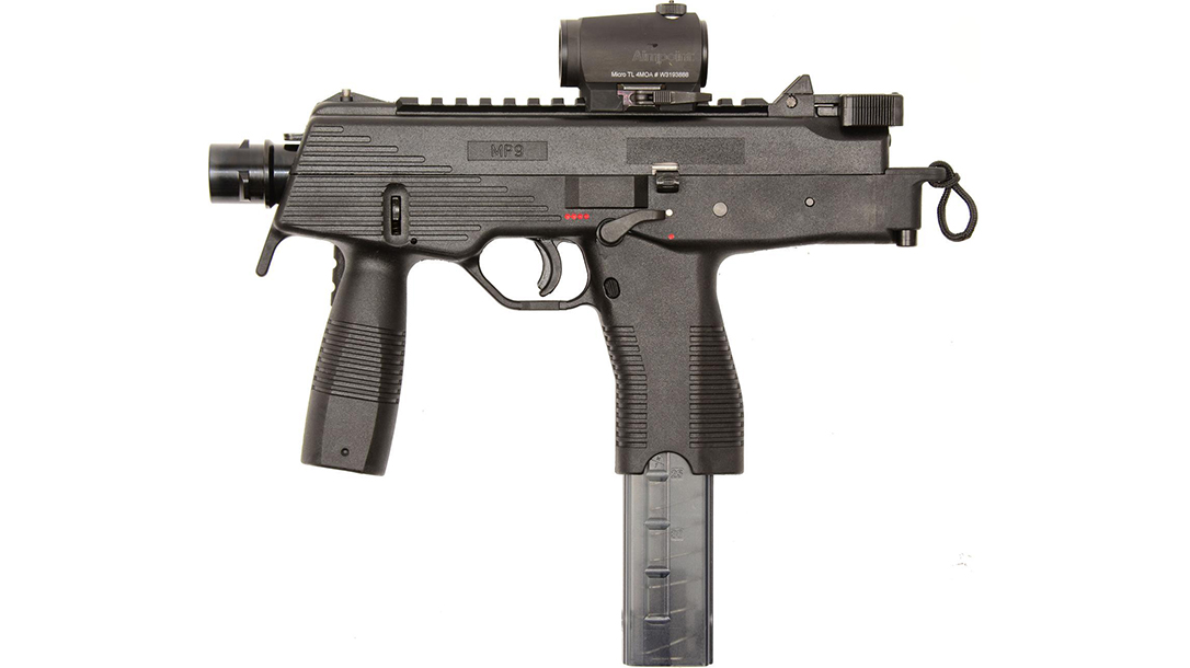 B&T MP9 sub compact weapon
