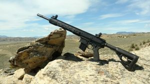 Big Horn Armory AR500 rifle mountaintop