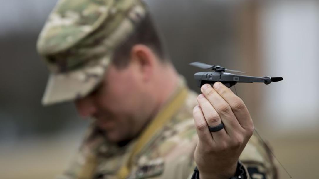 Black Hornet III uas closeup