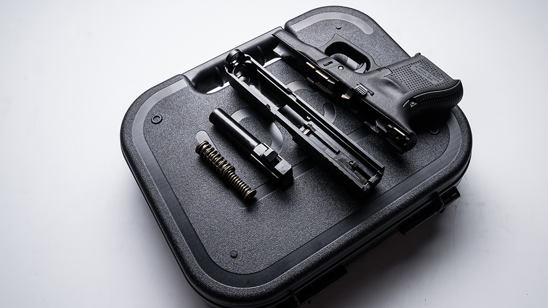glock 26 gen5 pistol disassembled