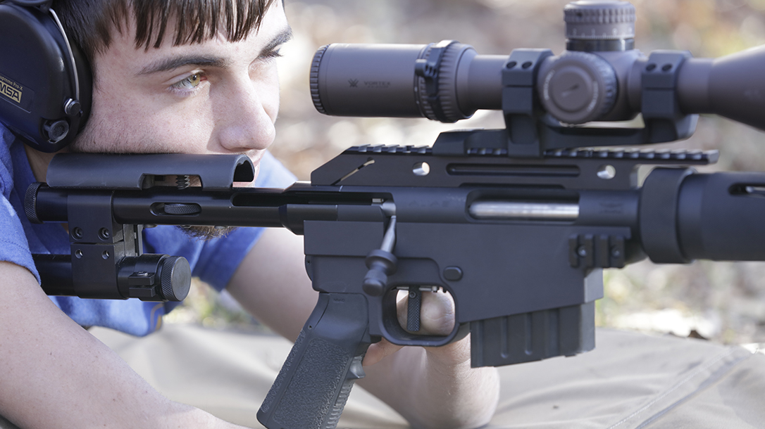 hunter cayll McMillan Alias CS5-T rifle shooting