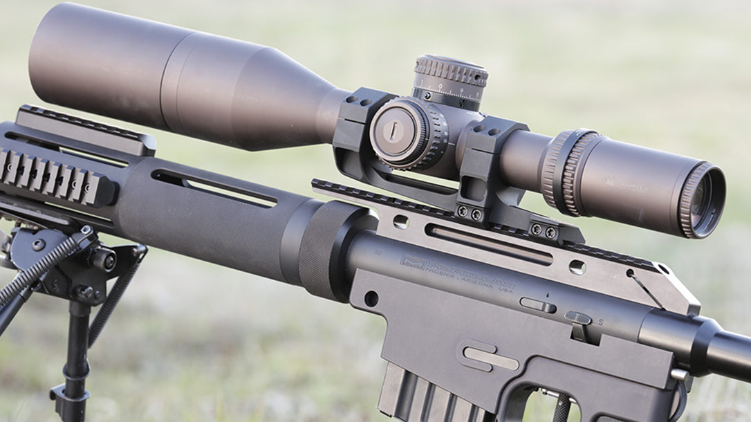hunter cayll McMillan Alias CS5-T rifle optic
