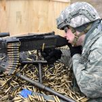missing machine gun m240 firing