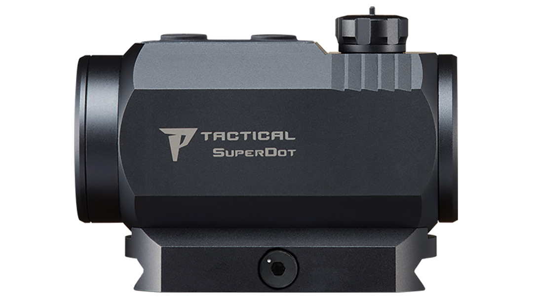 Nikon P-Tactical Superdot sight left profile