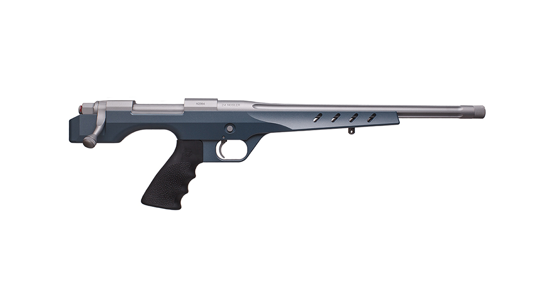 Nosler M48 NCH handgun blue right profile