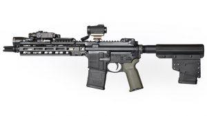 pistol storage device left profile