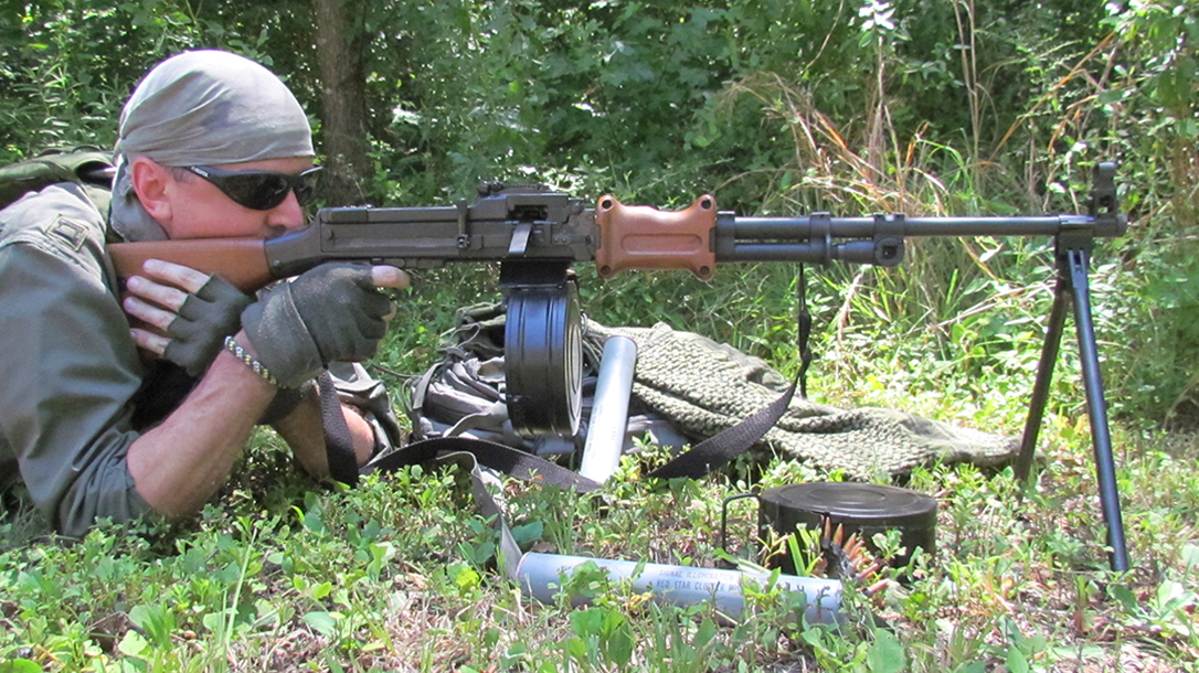 rpd rpk light machine gun comparison