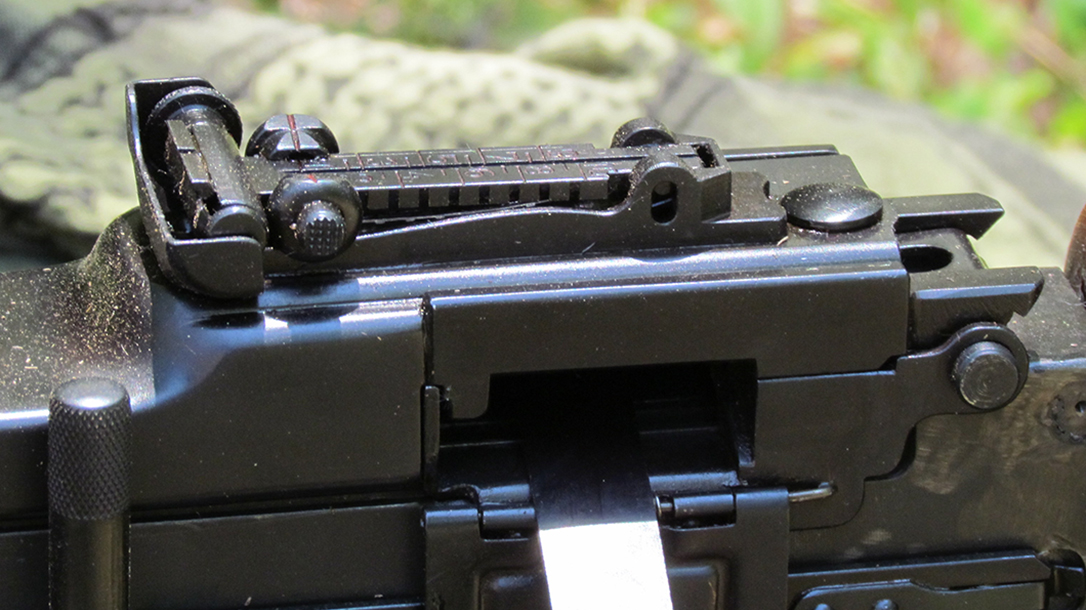 rpd rpk light machine gun rear sight