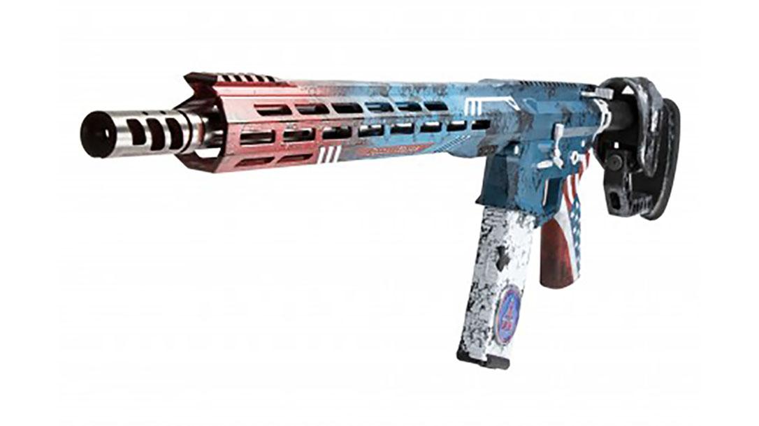 rise armament Patriot Rifle left front angle