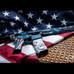 rise armament Patriot Rifle flag