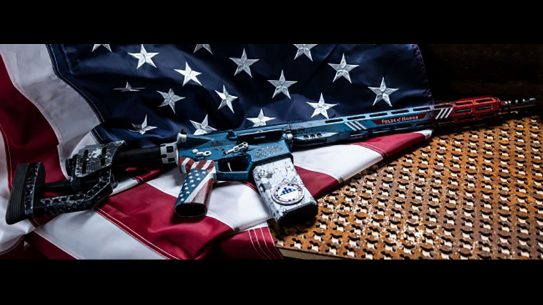 rise armament Patriot Rifle flag