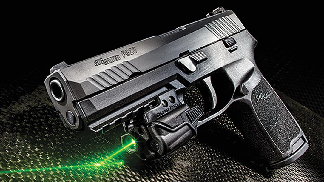 texas rangers highway patrol p320 pistol laser