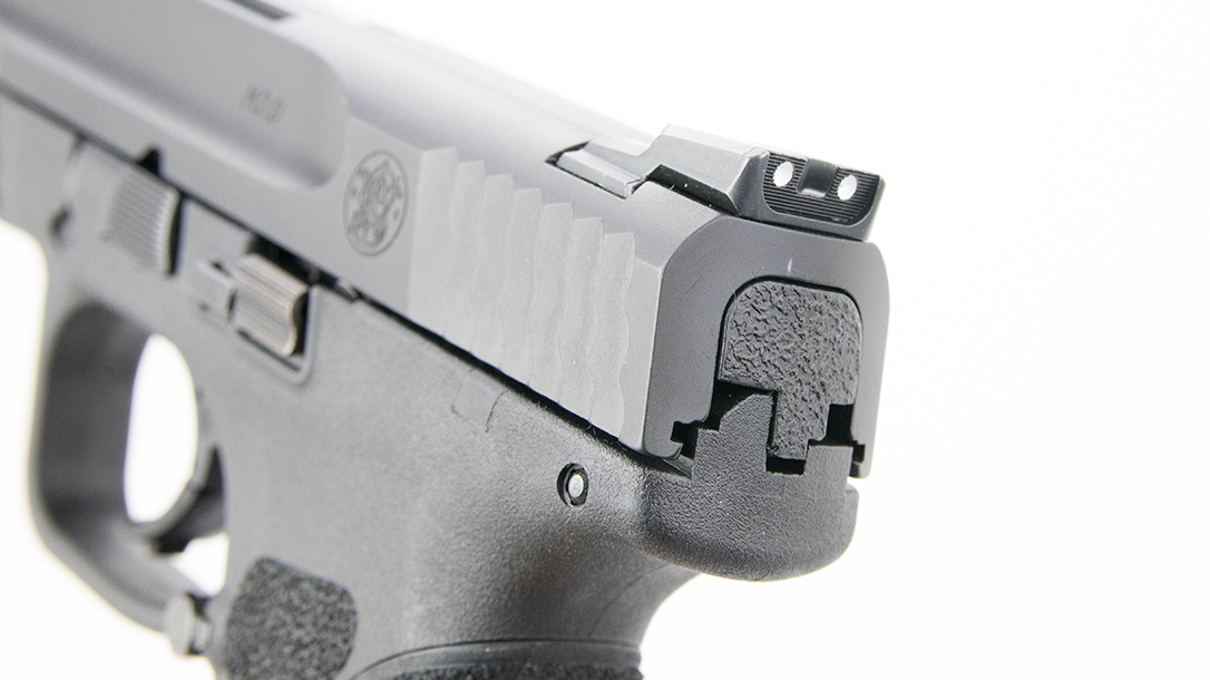 Smith & Wesson M&P9 M2.0 Pistol rear sight