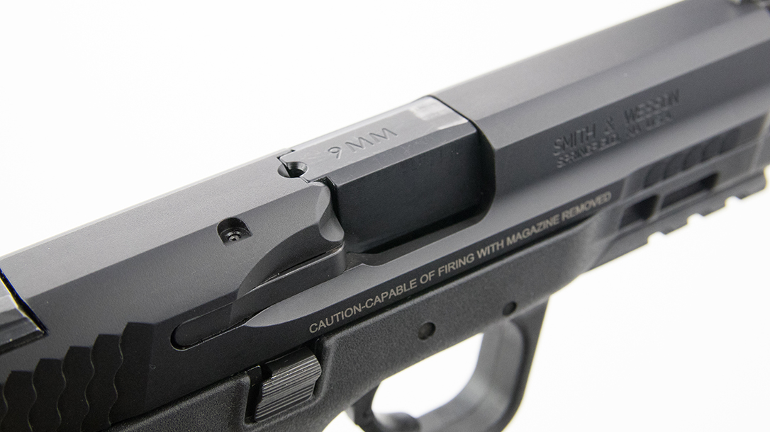 Smith & Wesson M&P9 M2.0 Pistol ejection port