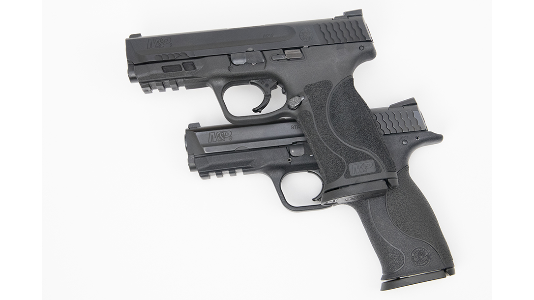 Smith & Wesson M&P9 M2.0 Pistol texturing
