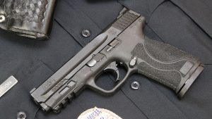 Smith & Wesson M&P9 M2.0 Pistol left profile
