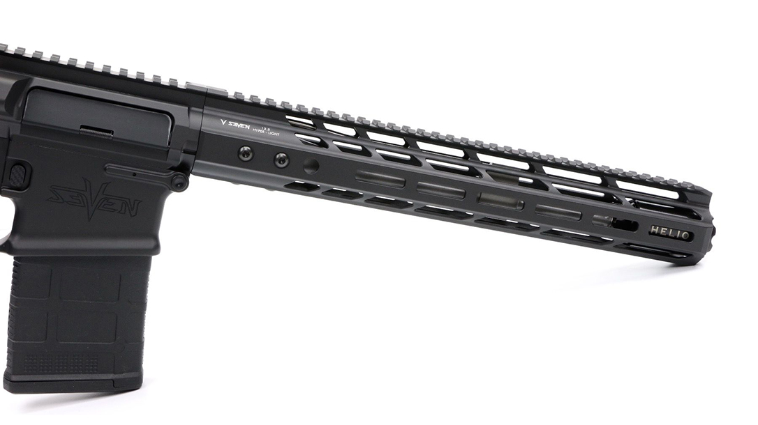 V Seven Harbinger rifle second option handguard