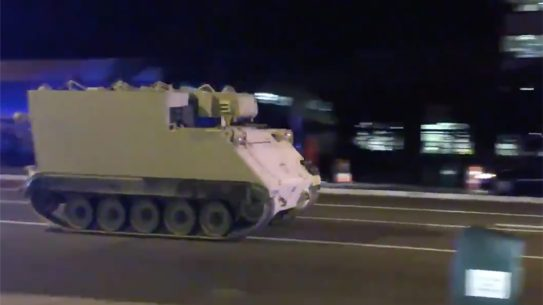 virginia national guard stolen armored carrier