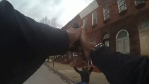 baltimore police officer joseph rodgers shooting arrest