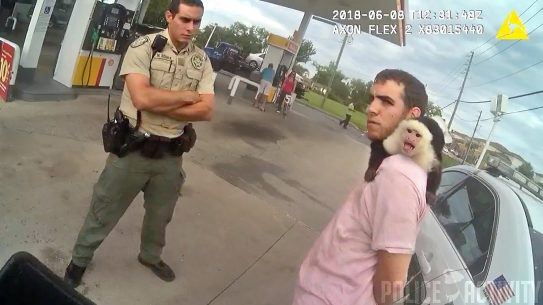 FLORIDA MAN PET MONKEY ARREST