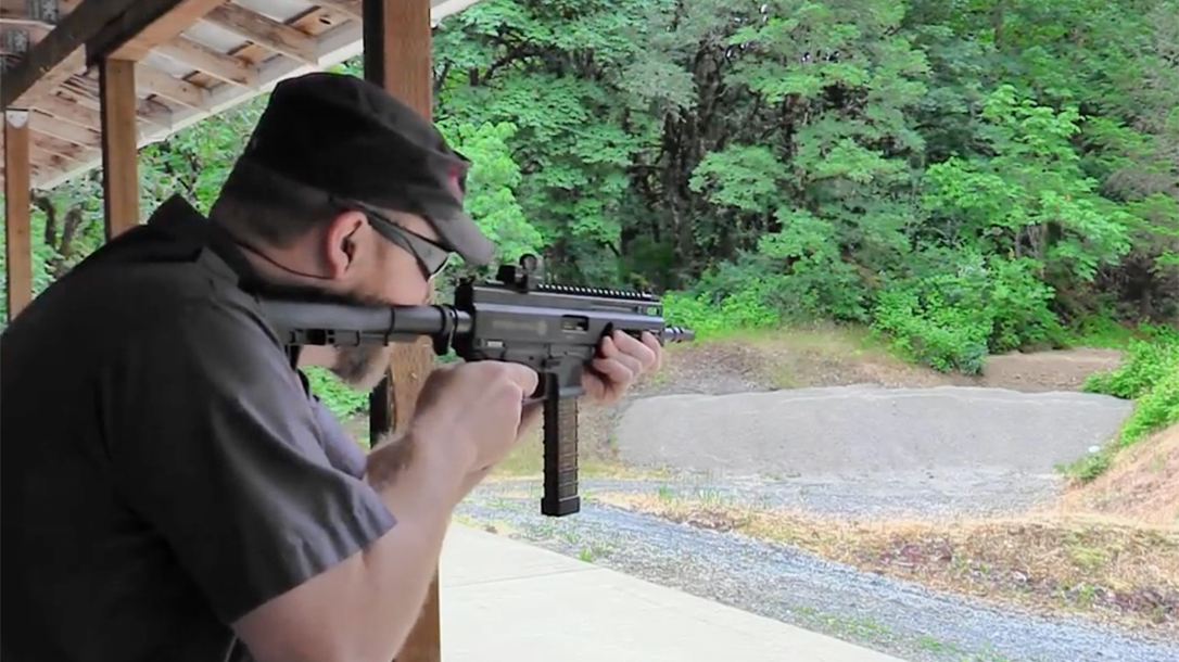 Video Range Time With The Grand Power Stribog Pistol Carbine