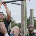 army combat fitness test leg tucks