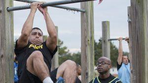 army combat fitness test leg tucks