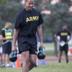 army combat fitness test kettle bell