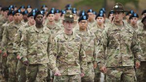 army osut training marching