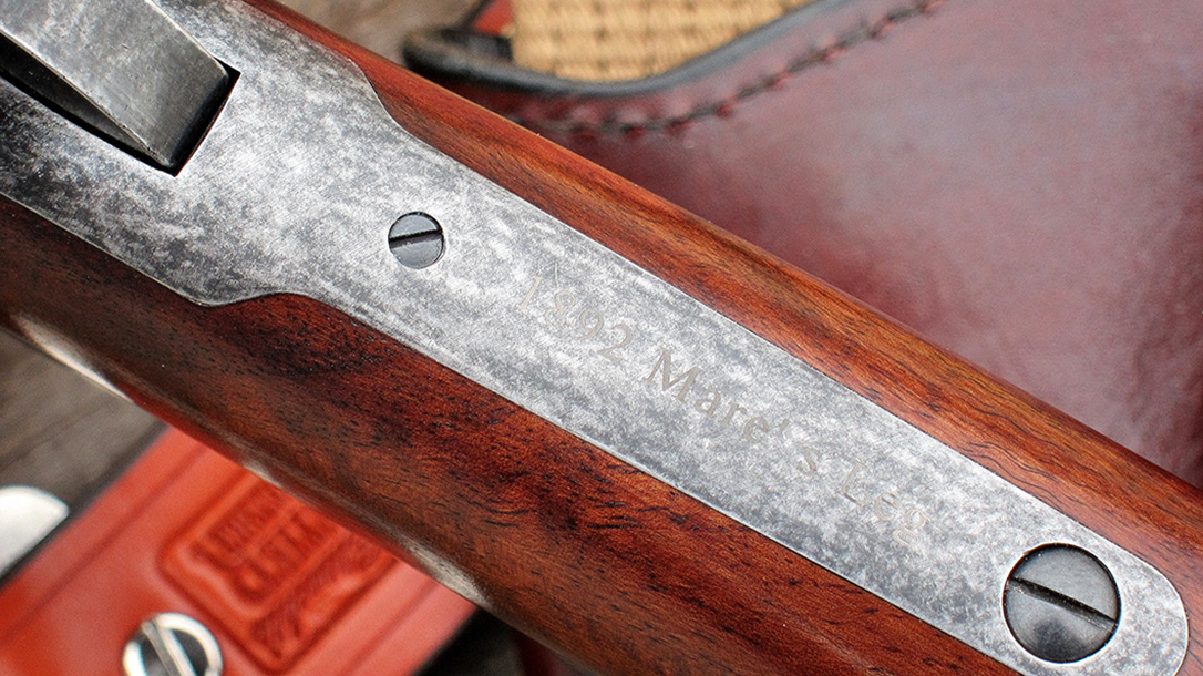 chiappa 1892 mare's leg rifle wood