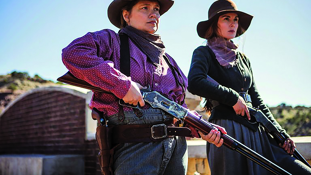 godless tv series rifles