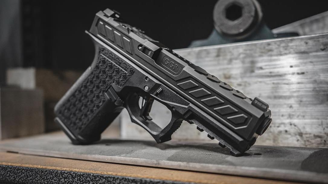 grey ghost combat pistol right profile