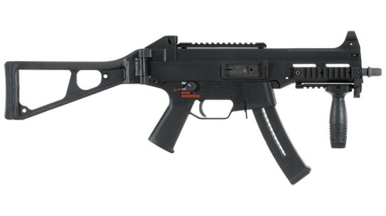 HK UMP submachine gun right profile