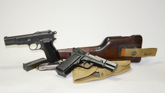 Inglis Hi-Power pistol variants