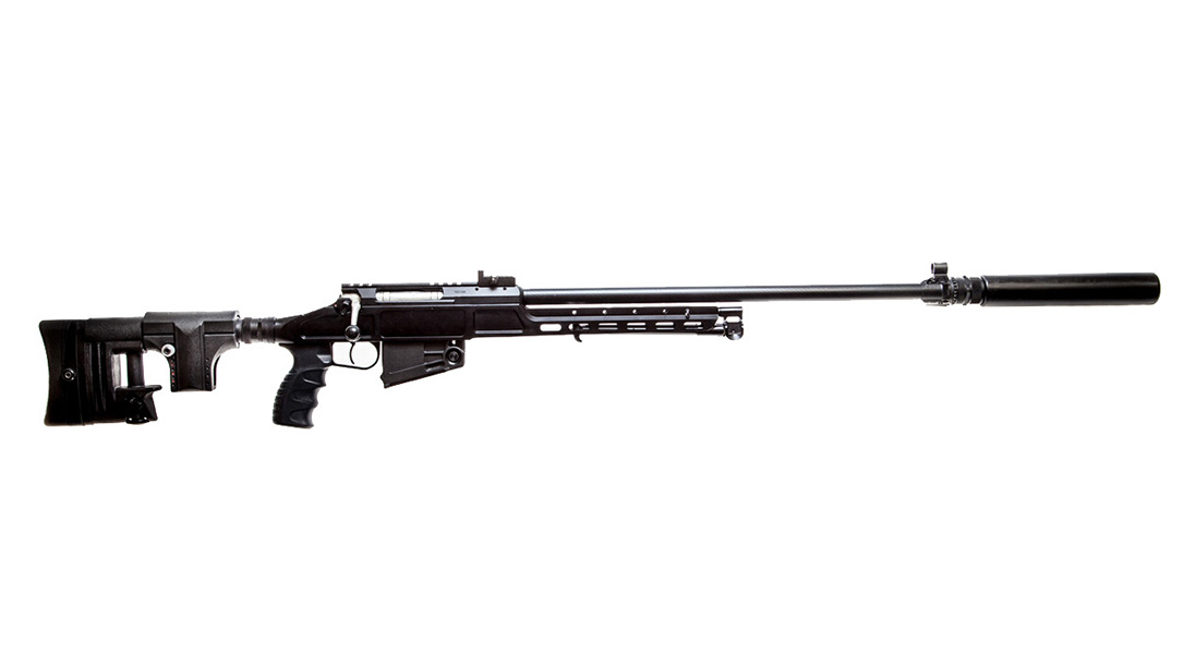 Kalashnikov sv-98 rifle right profile