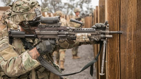 us army squad automatic weapon, companies bid