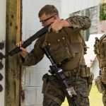 remington m870 modular combat shotgun door breach