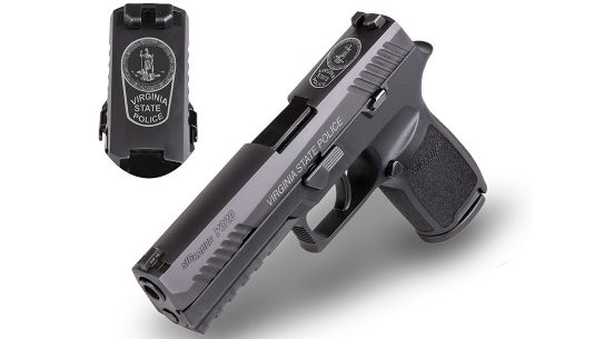 virginia state police sig p320 pistol