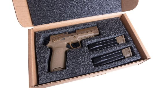 SIG M17-Commemorative pistol right profile