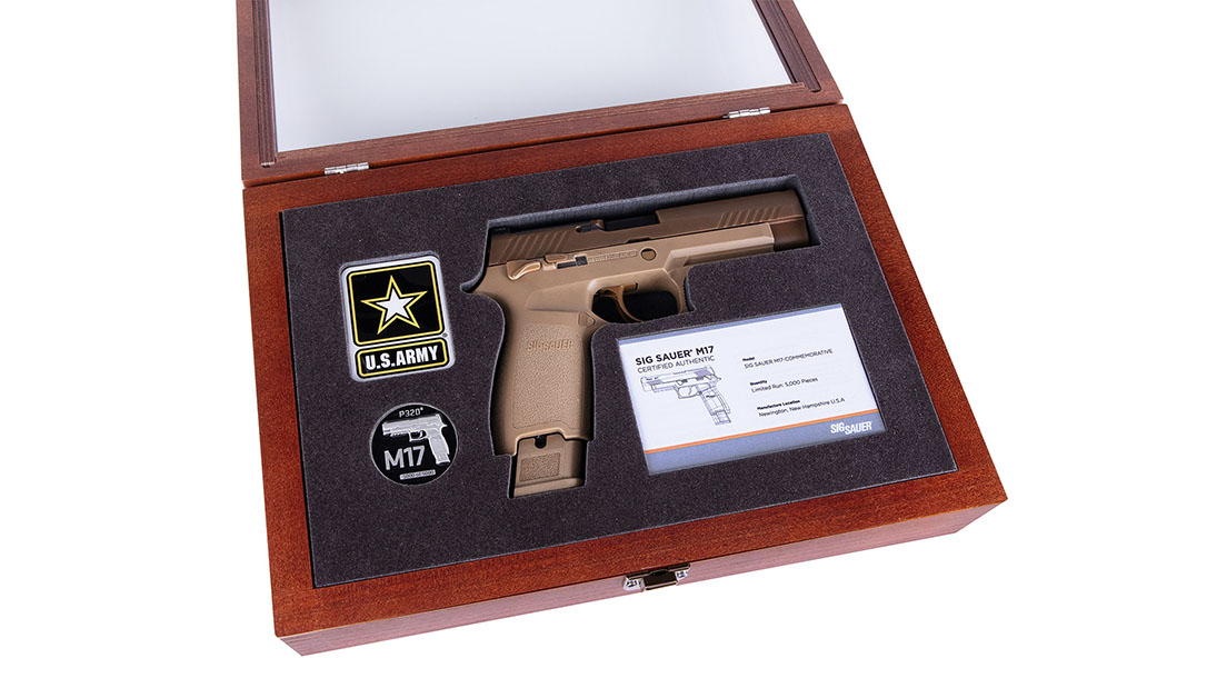 SIG M17-Commemorative pistol case
