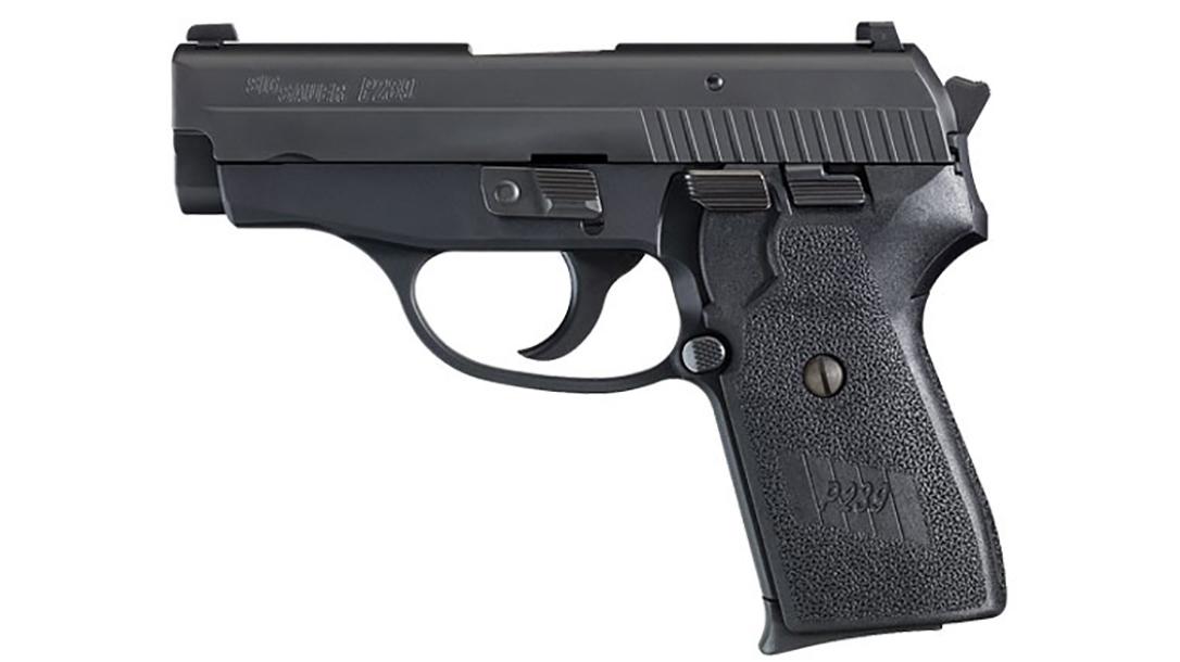 SIG P239 pistol left profile