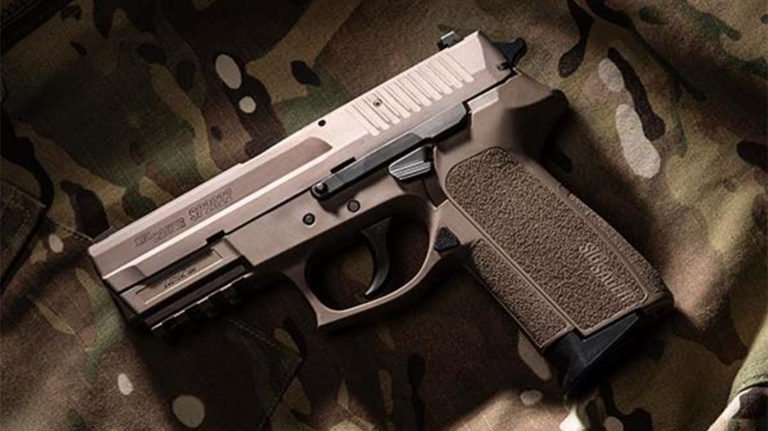 Sig SP2022 pistol