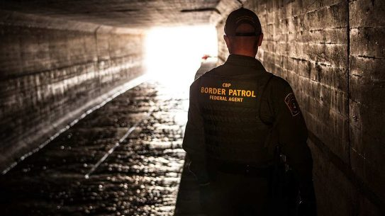 us customs border protection tunnel