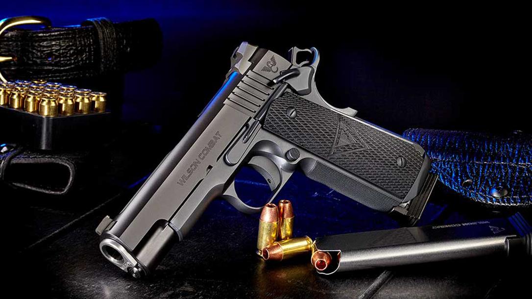wilson combat Vickers Elite Commander pistol left angle