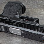 zev raven glock 19 slide side view