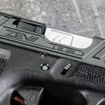 zev raven glock 19 slide closeup