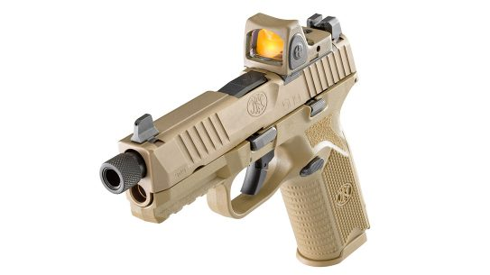 FN 509 Tactical pistol, reflex sight