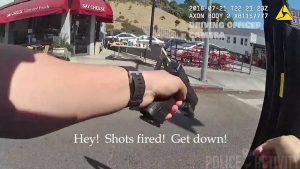 LA shootout, LAPD Body cam, gene atkins
