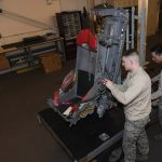 GAU-5A Aircrew Self Defense Weapon rifle ejection seat