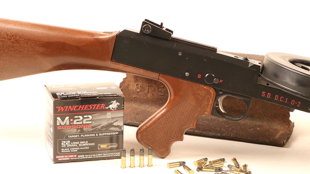 American 180, American 180 submachine gun, American 180 subgun, American 180 submachine gun ammo